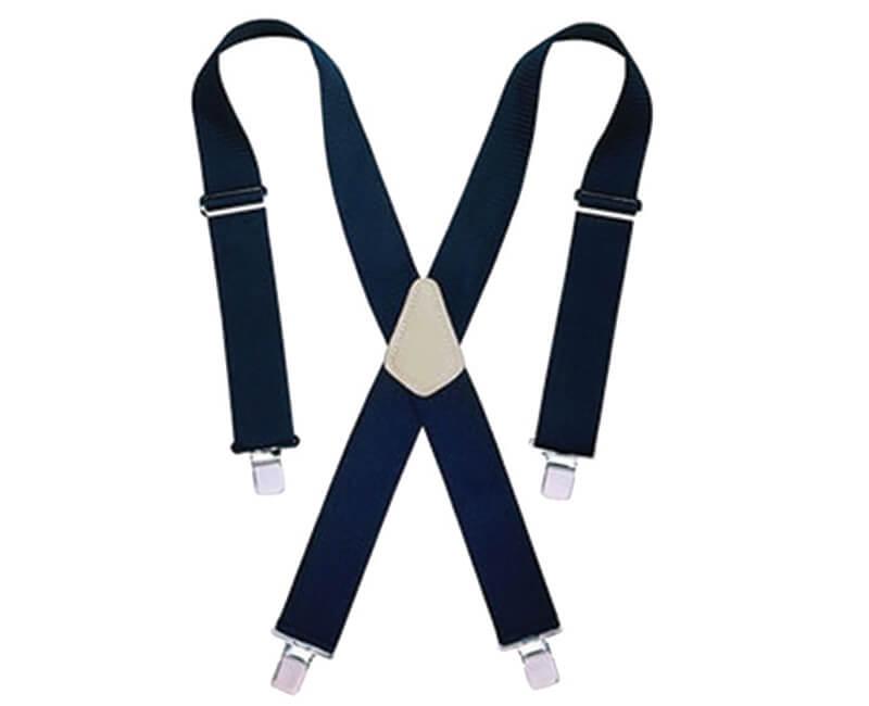 """2"""" Heavy Duty Work Suspenders - Black"""