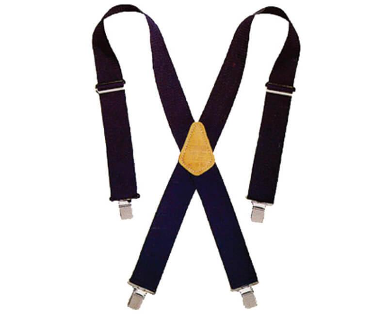 "2"" Heavy Duty Work Suspenders - Blue"