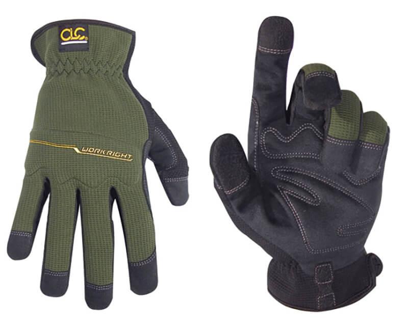 Workright Open Cuff Gloves - Medium