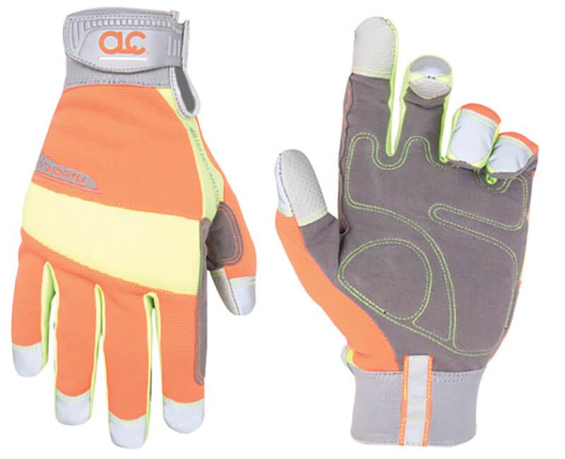 Hi-Visibility Gloves - Large