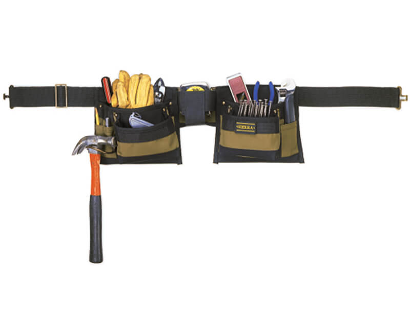 Polyester Tool Apron - 8 Pockets