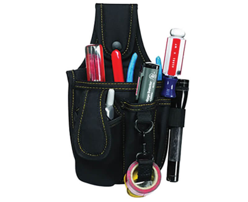 Tool And Cell Phone Holder - 4 Pockets