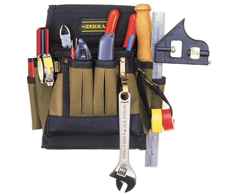 Electrical Tool Pouch - 10 Pockets
