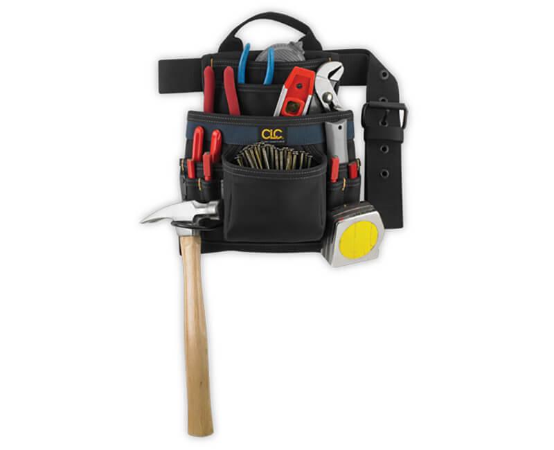 Ballistic Nail And Tool Bag - 10 Pockets
