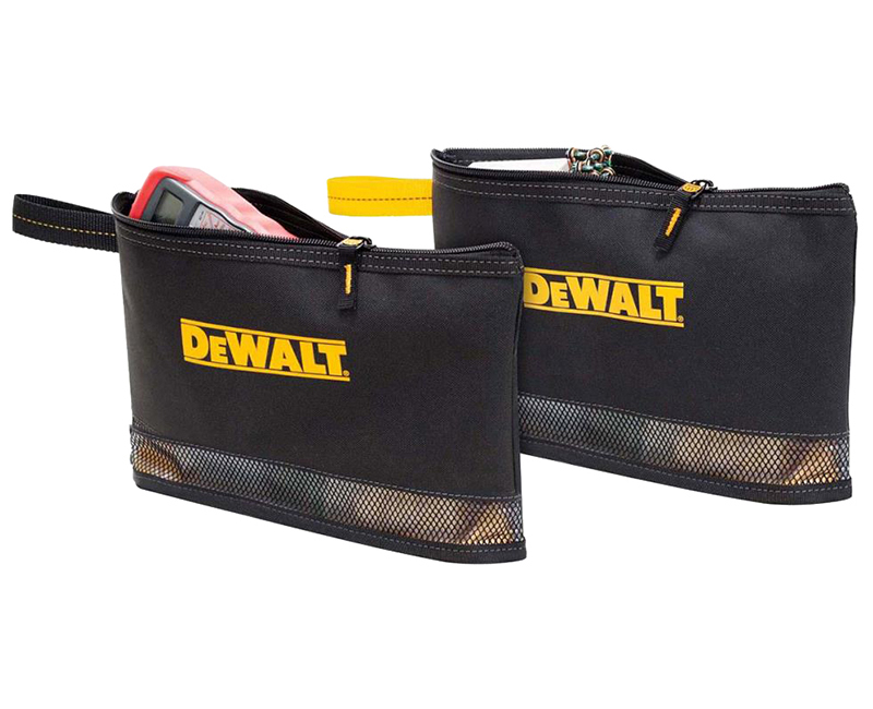 Dewalt 2 Multi-Purpose Zippered Bags