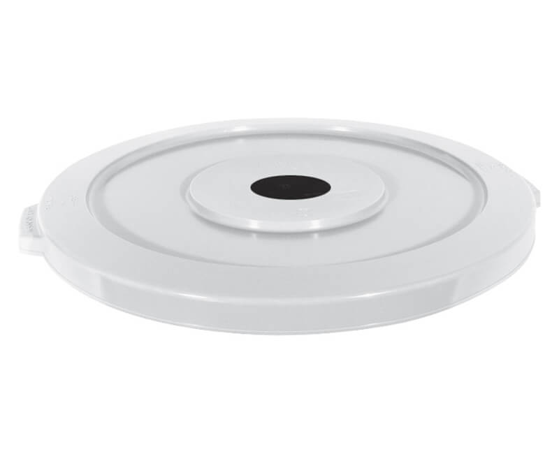 32 GAL. Huskee Recycle Lid - White