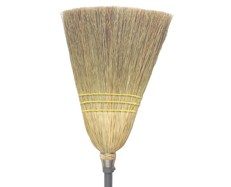 #8 Thrifty Corn Broom - Wood Handle