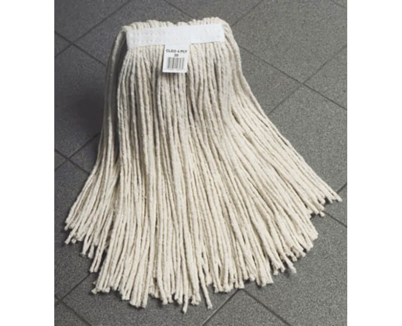 #12 Narrow Band Cotton Wet Mop Head