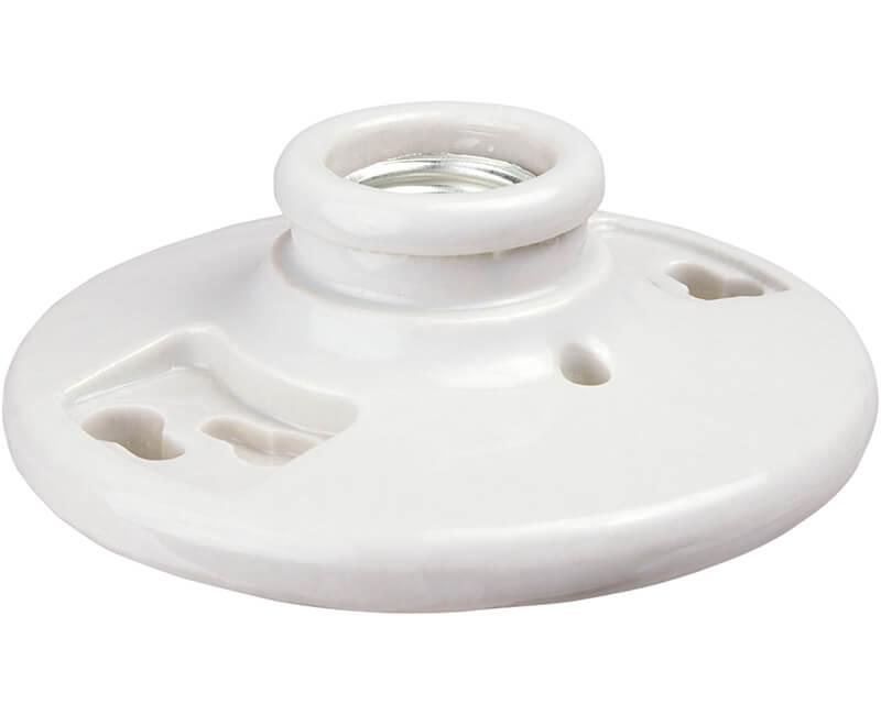 Porcelain Keyless Ceiling Fixture