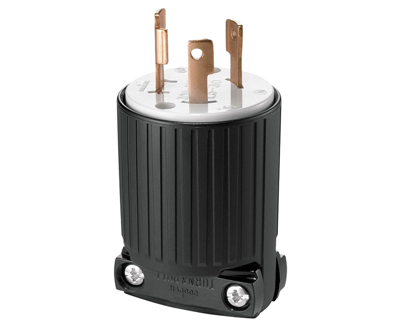 Locking Plug 2P 3W - 20A, 250V