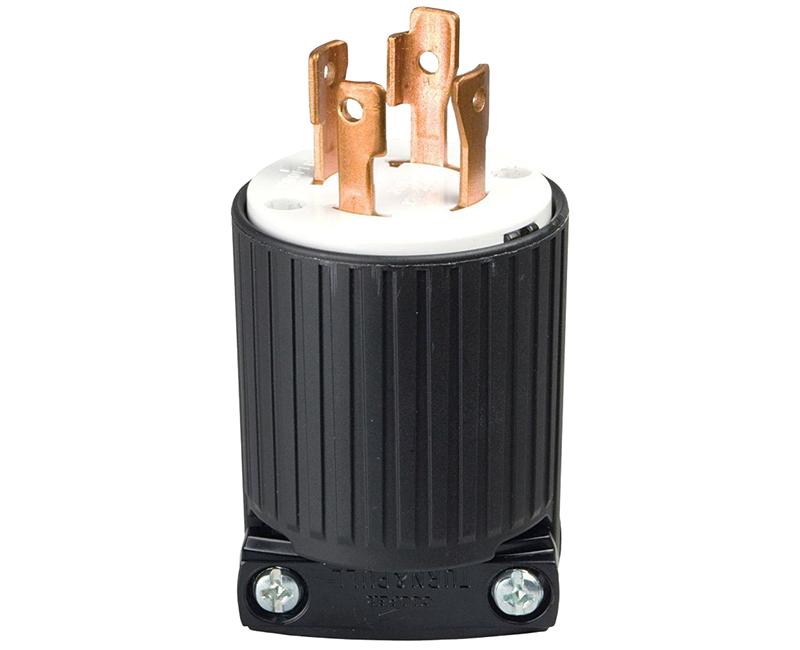 Locking Plug 3P 4W - 20A, 125/250V