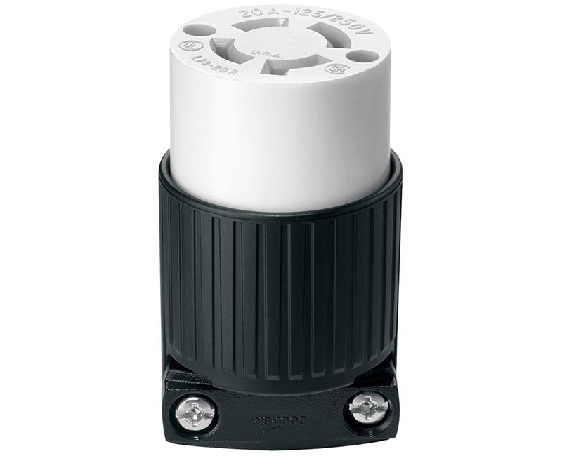 Locking Connector 3P 4W - 20A, 125/250V