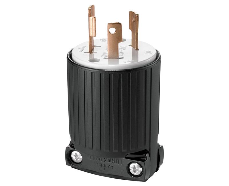 Locking Plug 2P 3W - 30A, 125V