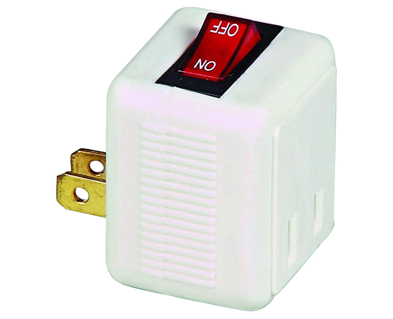 Plug-In Switch Polar 2P 2W - 15A White