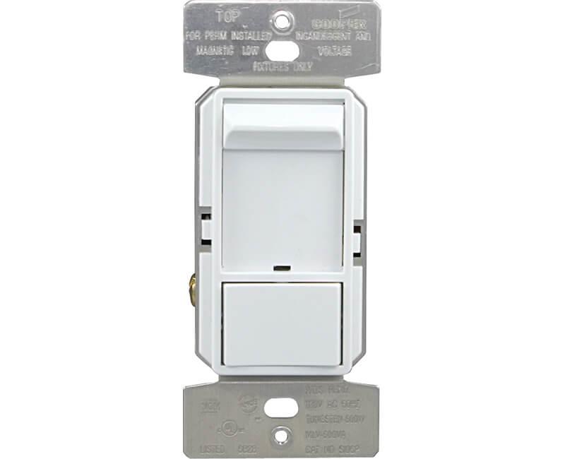600 Watt Slide Dimmer - White