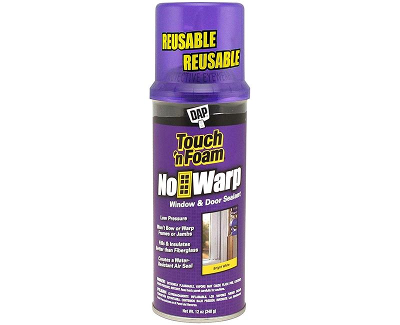 12 Oz. Touch N Foam No Warp Window & Door Sealant