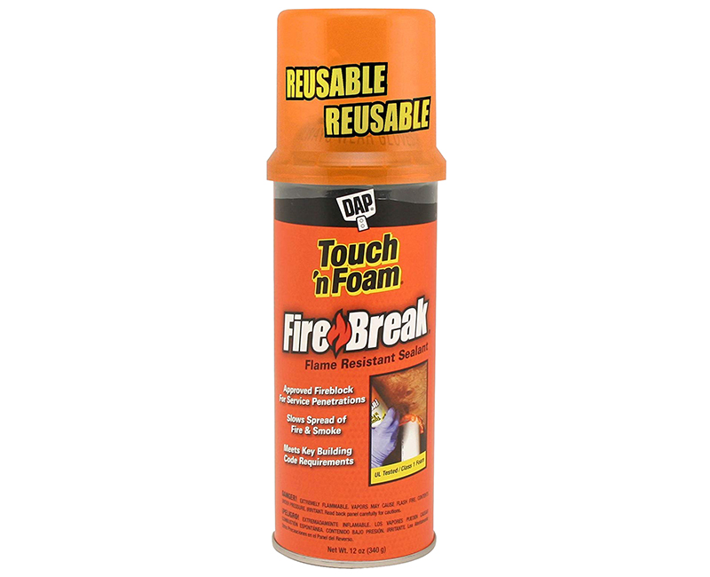 12 Oz. Touch N Foam Fire Break Flame Resistant Sealant