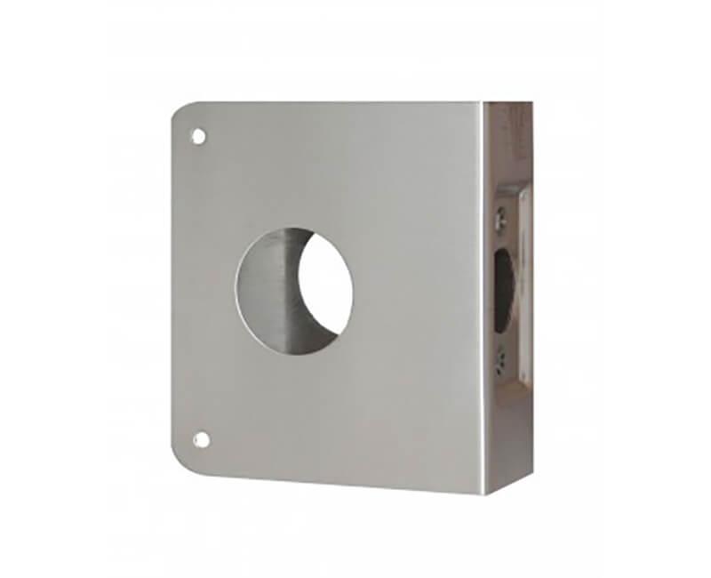 """4-1/4"""" x 4-1/2"""" Wrap Around Plate For 1-3/4"""" Door - US32D"""