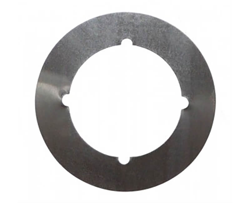 """3-1/2"""" Outer Dia. 2-1/8"""" Inner Dia US32D Finish Scar Plate"""