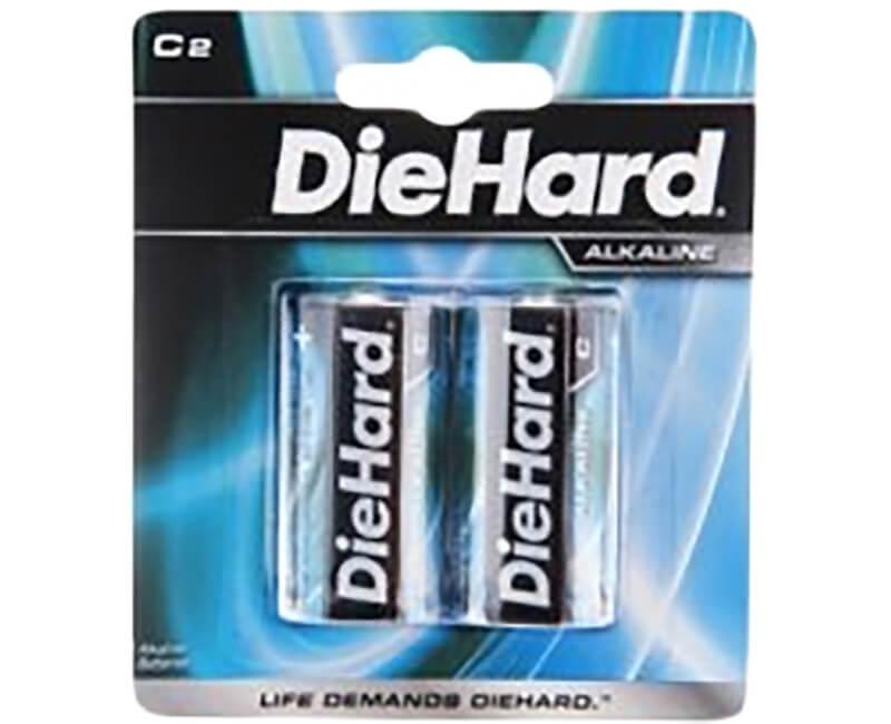 2C Diehard Batteries - Carded