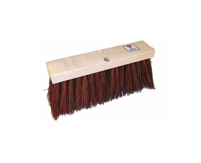 "16"" Street Broom - 5 1/4"" Poly Head Only"