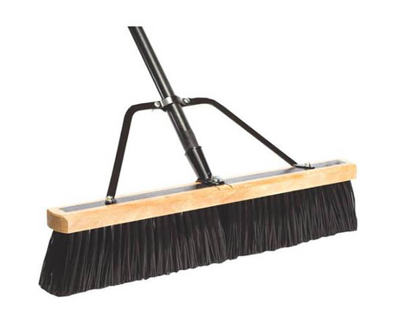 "Heavy Duty Contractor Sweep - 4"" Palmyra"