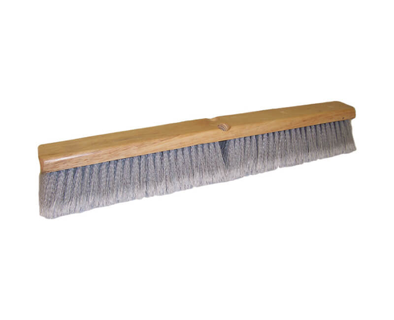 "18"" Grey Flagged Floor Sweep - Head Only"