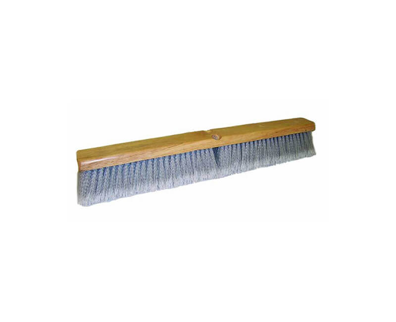 "24"" Grey Flagged Floor Sweep - Head Only"