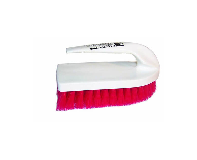 "6"" EZ Hold Poly Scrub Brush"