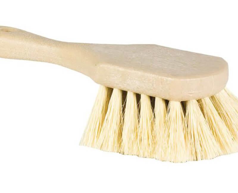 """8"""" White Tampico Utility Pot Scrub"""