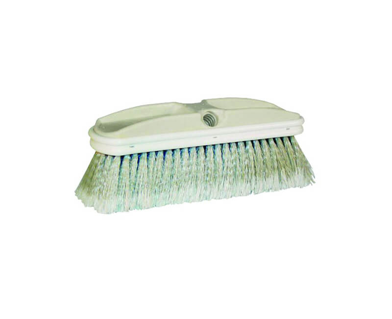 "10"" Soft Gray Flagged Window And Vehicle Brush"
