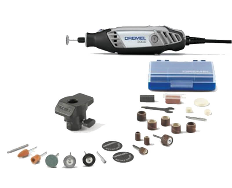 Rotary Tool With 24 Accessories