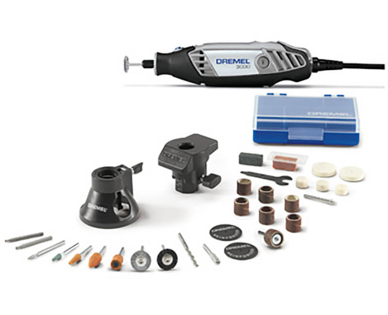 Rotary Tool With Attachments & Accessories