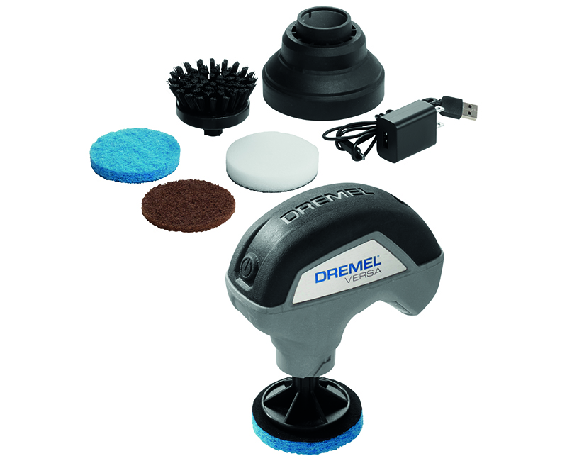 Dremel Power Cleaner Tool + Scrubber W/ 4 Attachment Cordless