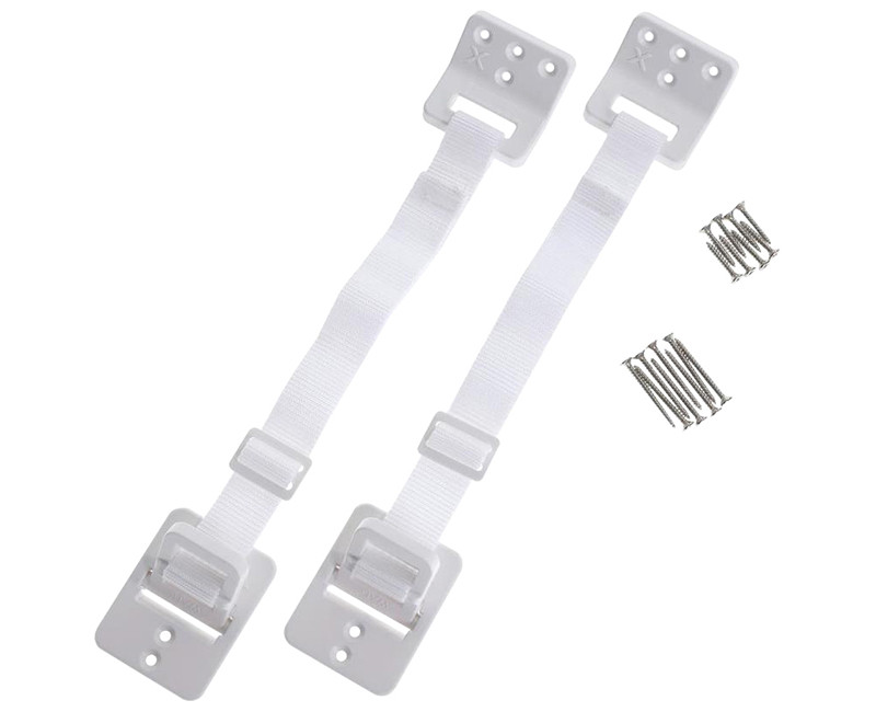 HINGED FURNITURE ANCHORS 2 PACK
