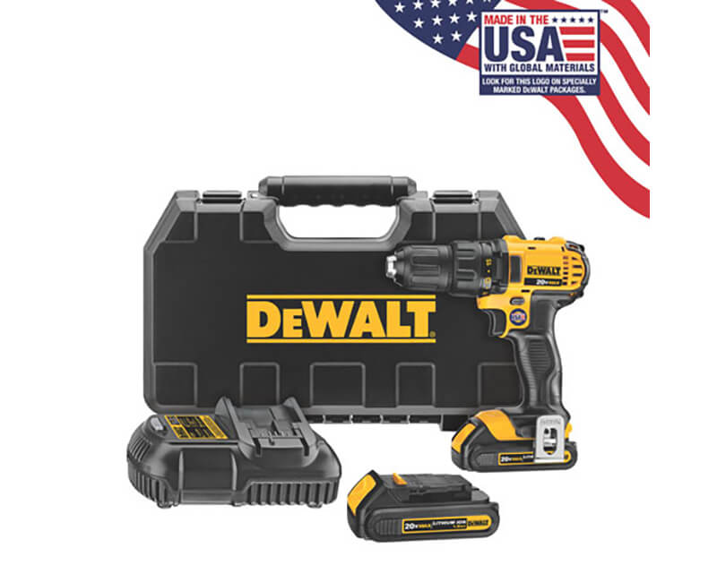 20 V Max Lithium Ion Drill Driver Kit
