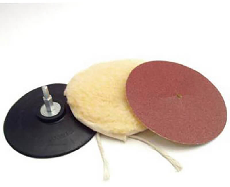 """5"""" Polishing And Sanding Kit - 4PC Carded"""