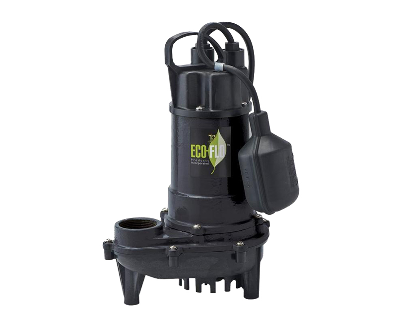 1/3 HP Cast Iron Sump Pump W/ Wide Angle Switch
