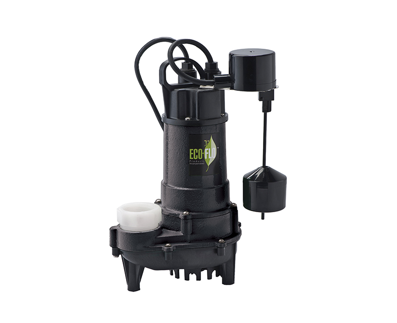 3/4 HP Cast Iron Sump Pump W/ Vertical Switch