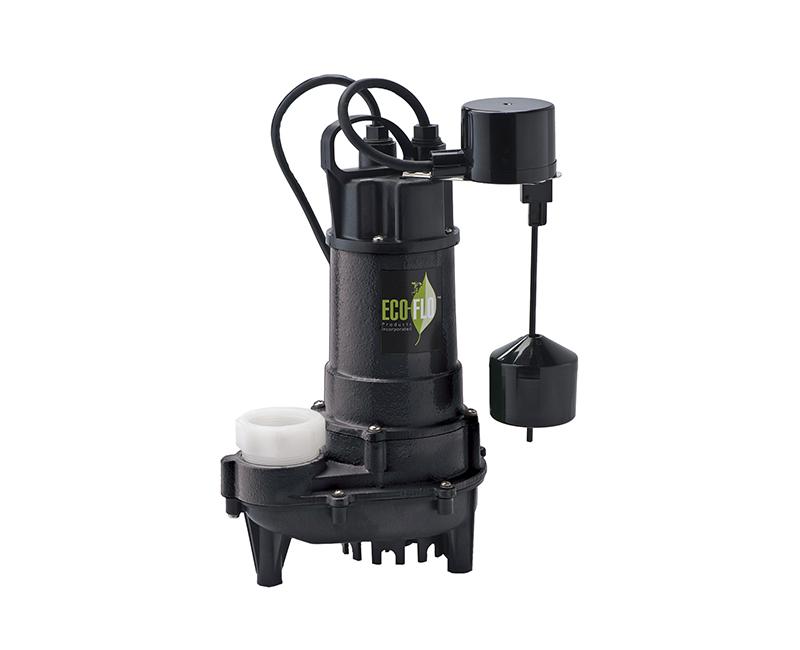 3/4 HP Cast Iron Sump Pump W/ Vertical Switch