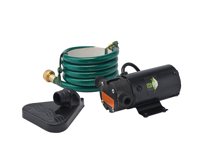 1/12 HP Light Weight Utility Pump - Includes 6' Hose & Floor Drainer