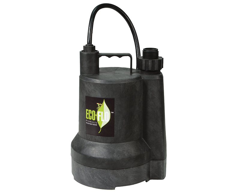 1/6 HP Submersible Thermoplastic Construction Utility Pump