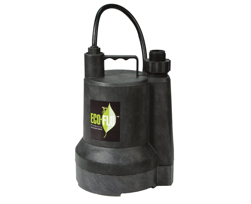 1/4 HP Submersible Thermoplastic Construction Utility Pump