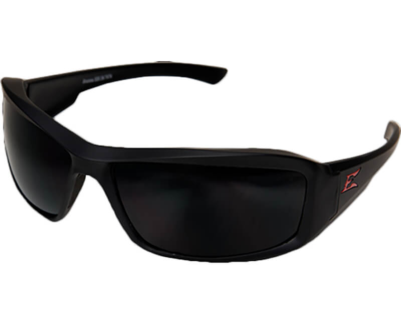 Brazeau Polarized Torque Matte Safety Glasses - Smoke Lens