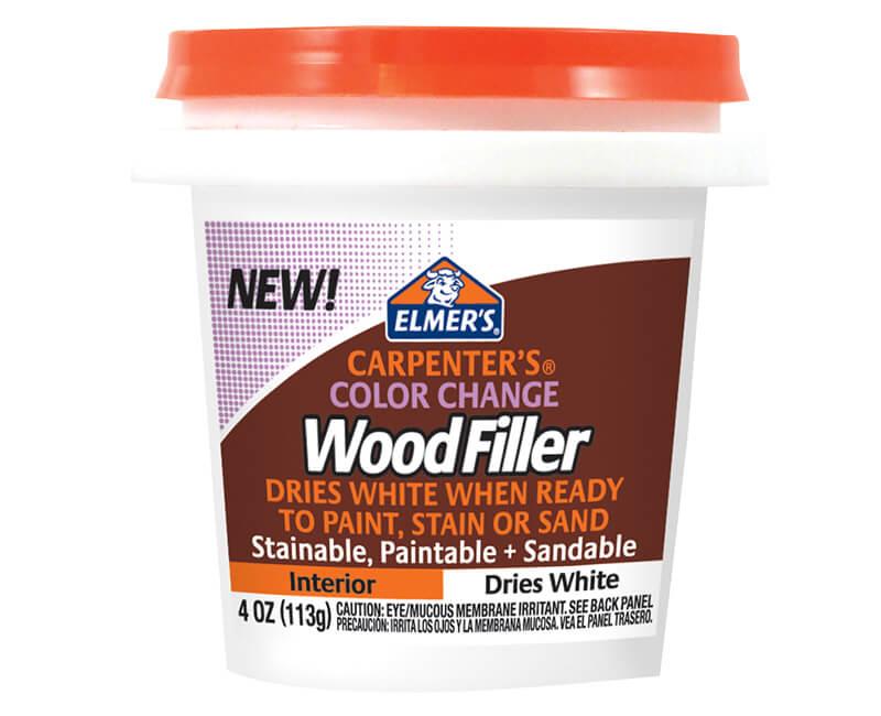 4 Oz. Color Change Interior Wood Filler - White