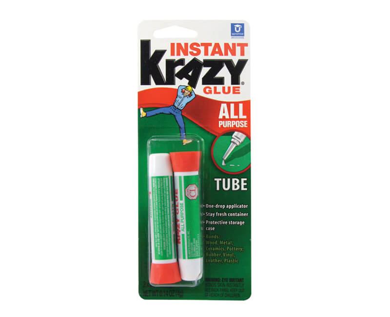 2 Pack All Purpose Krazy Glue - 2g