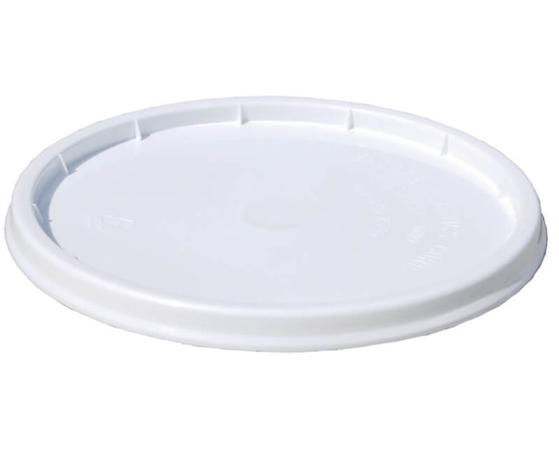 1 GAL. White Industrial Pry-Off Lid