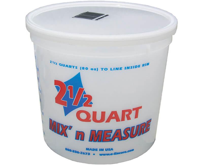 2.5 Qt. Mix-N-Measure Container