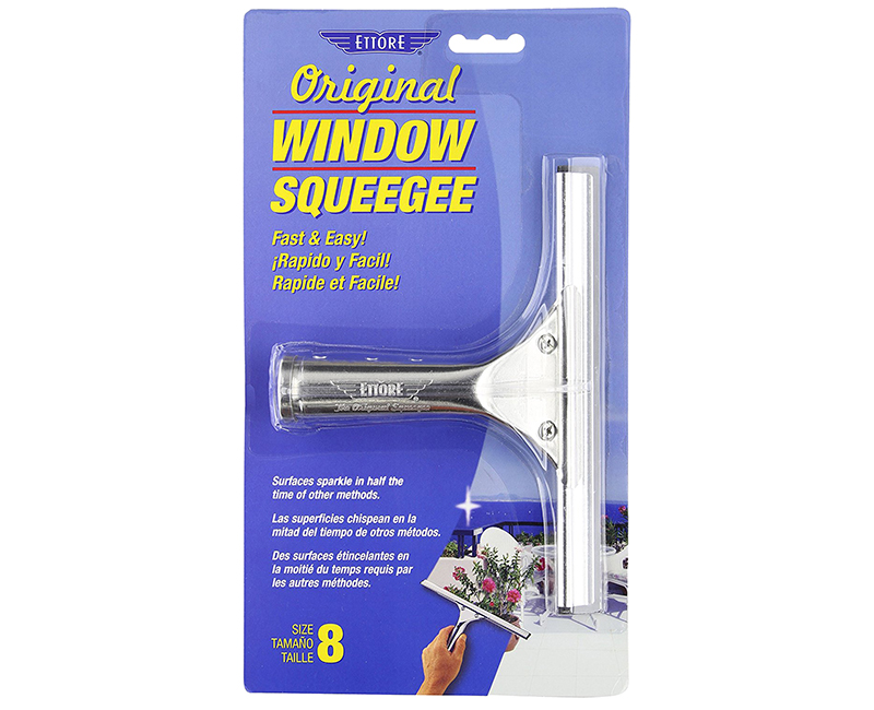 "8"" Ettore Original Window Squeegee"