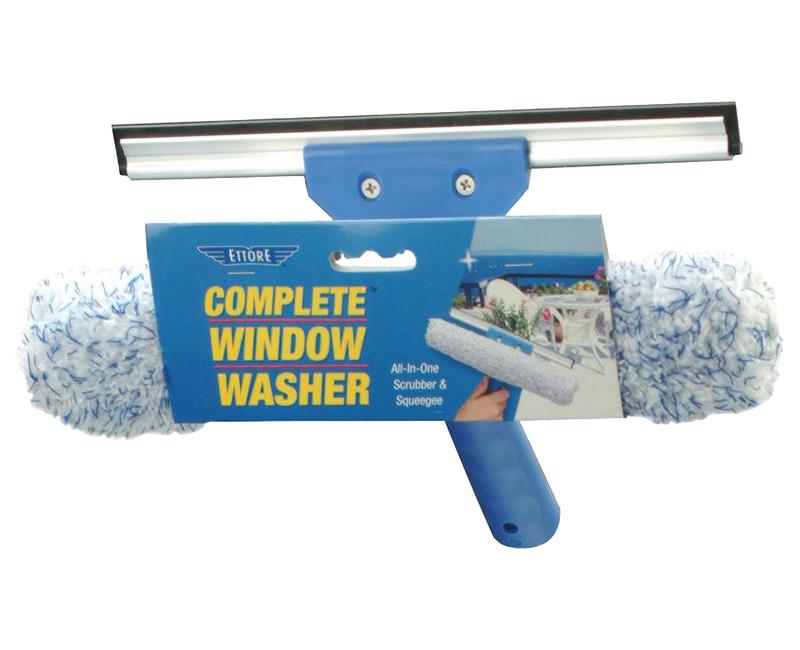 Ettore Squeegee/Scrubber Window Cleaner
